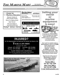 Maritime Reporter Magazine, page 97,  Jun 2005 New Jersey Center for Maritime Education Deep-sea