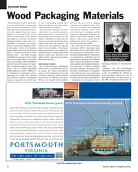 Maritime Reporter Magazine, page 14,  Oct 2005 Department of Agriculture