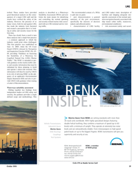 Maritime Reporter Magazine, page 39,  Oct 2005 LNG facility
