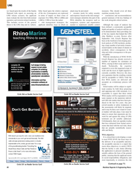 Maritime Reporter Magazine, page 40,  Oct 2005 Acoustical - Fireproofing SEI