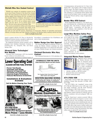 Maritime Reporter Magazine, page 48,  Oct 2005 South Pacific