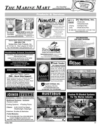 Maritime Reporter Magazine, page 78,  Oct 2005 Gig Harbor
