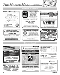 Maritime Reporter Magazine, page 79,  Oct 2005 Florida