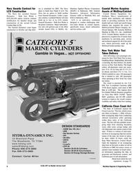 Maritime Reporter Magazine, page 8,  Nov 2005 Mississippi