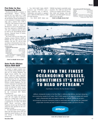 Maritime Reporter Magazine, page 11,  Nov 2005 OCEANGOING VESSELS