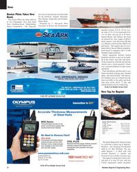Maritime Reporter Magazine, page 12,  Nov 2005 Delaware