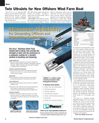 Maritime Reporter Magazine, page 16,  Nov 2005 Ben Colman