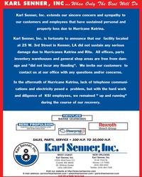 Maritime Reporter Magazine, page 2nd Cover,  Nov 2005 Washington