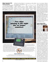 Maritime Reporter Magazine, page 26,  Nov 2005 Maryland