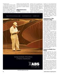 Maritime Reporter Magazine, page 28,  Nov 2005 Jim Drogan