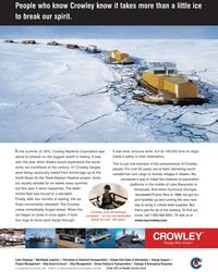 Maritime Reporter Magazine, page 3,  Nov 2005 massive oil exploration platforms