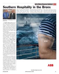 Maritime Reporter Magazine, page 61,  Nov 2005 UNO