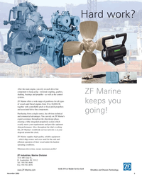 Maritime Reporter Magazine, page 5,  Nov 2005 ZF Industries