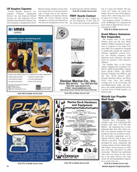 Maritime Reporter Magazine, page 72,  Nov 2005 Virginia