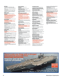 Maritime Reporter Magazine, page 84,  Nov 2005 Montana