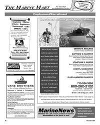 Maritime Reporter Magazine, page 86,  Nov 2005 New Jersey