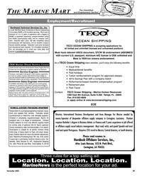 Maritime Reporter Magazine, page 89,  Nov 2005 Louis Buisson