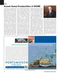 Maritime Reporter Magazine, page 10,  Dec 2005