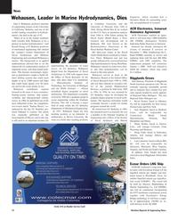 Maritime Reporter Magazine, page 12,  Dec 2005