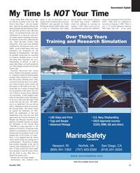 Maritime Reporter Magazine, page 15,  Dec 2005