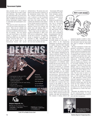 Maritime Reporter Magazine, page 16,  Dec 2005