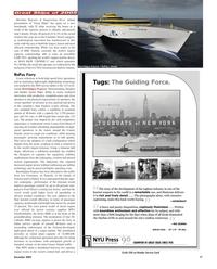 Maritime Reporter Magazine, page 17,  Dec 2005
