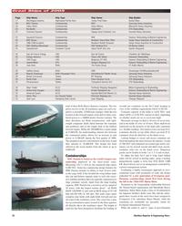 Maritime Reporter Magazine, page 18,  Dec 2005