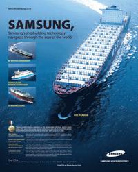 Maritime Reporter Magazine, page 19,  Dec 2005