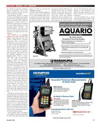 Maritime Reporter Magazine, page 27,  Dec 2005