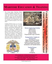 Maritime Reporter Magazine, page 1,  Dec 2005
