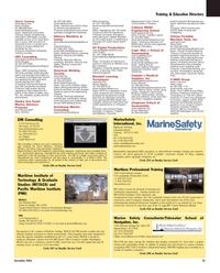 Maritime Reporter Magazine, page 35,  Dec 2005