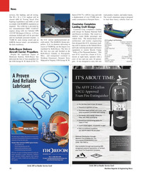 Maritime Reporter Magazine, page 10,  Jan 2010 Virginia