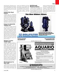 Maritime Reporter Magazine, page 11,  Jan 2010