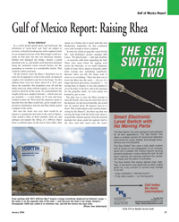 Maritime Reporter Magazine, page 27,  Jan 2010 Gulf of Mexico Report
