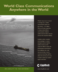 Maritime Reporter Magazine, page 1,  Jan 2010