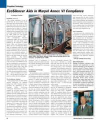 Maritime Reporter Magazine, page 32,  Jan 2010 sea water technology