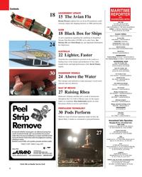 Maritime Reporter Magazine, page 2,  Jan 2010 Gulf of Mexico