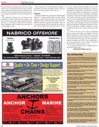 Maritime Reporter Magazine, page 36,  Feb 2, 2010