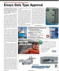 Maritime Reporter Magazine, page 43,  Feb 2, 2010