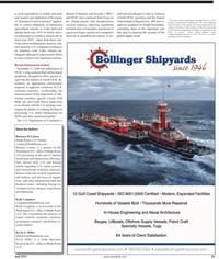 Maritime Reporter Magazine, page 23,  Apr 2, 2010 transportation