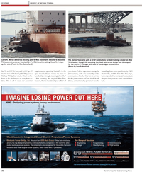 Maritime Reporter Magazine, page 30,  Apr 2, 2010 New York Harbor