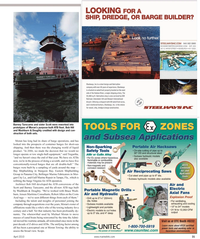 Maritime Reporter Magazine, page 31,  Apr 2, 2010 Tregurtha