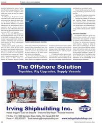 Maritime Reporter Magazine, page 34,  Apr 2, 2010 J??lio Soares de Moura