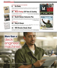 Maritime Reporter Magazine, page 2,  Apr 2, 2010 Don Sutherland