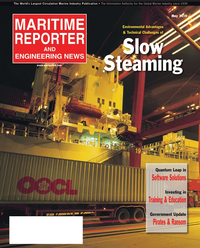 Maritime Reporter Magazine Cover May 2, 2010 -