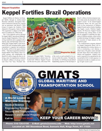 Maritime Reporter Magazine, page 10,  May 2, 2010