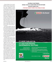 Maritime Reporter Magazine, page 31,  May 2, 2010