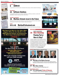 Maritime Reporter Magazine, page 2,  May 2, 2010