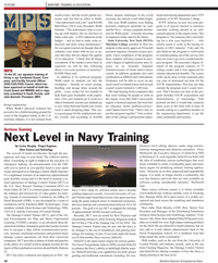 Maritime Reporter Magazine, page 42,  May 2, 2010