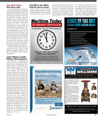 Maritime Reporter Magazine, page 49,  May 2, 2010